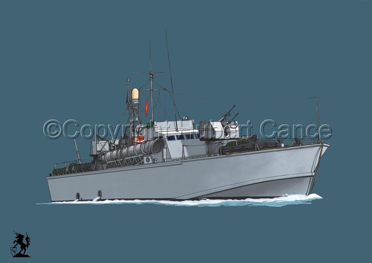 North Vietnamese P6 Torpedo Boat #2 (large view)