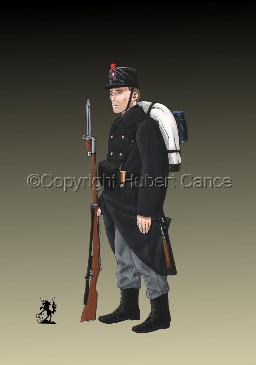 9eme Regiment d'Infanterie de Ligne (1914) #2 (large view)
