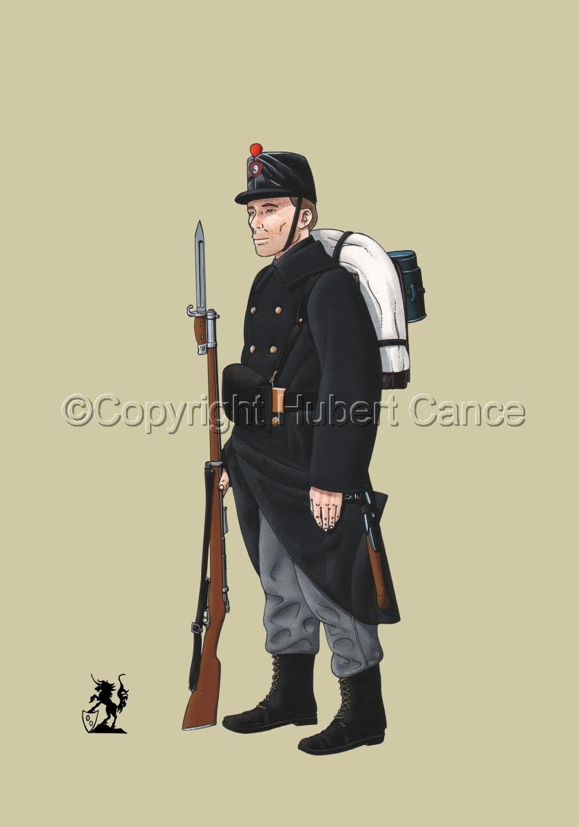 9eme Regiment d'Infanterie de Ligne (1914) #1 (large view)