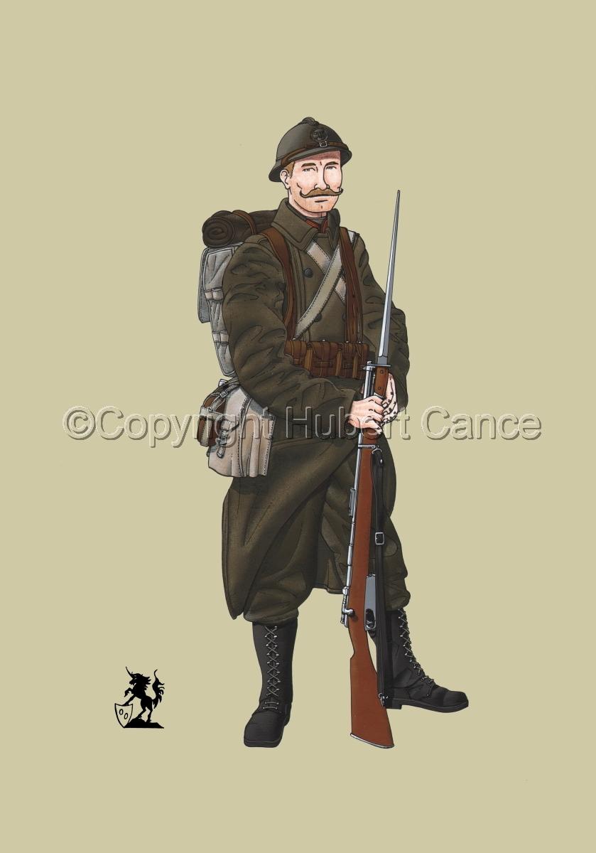 12eme Regiment de Ligne du Prince Leopold (1917) #1 (large view)