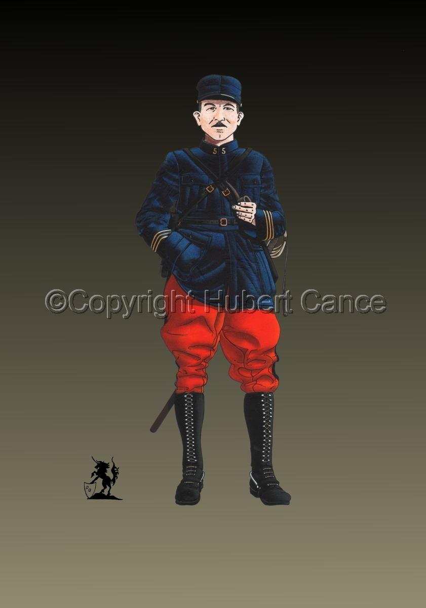 French, Capitaine, 5eme Regiment d'Infanterie (1914) #2 (large view)