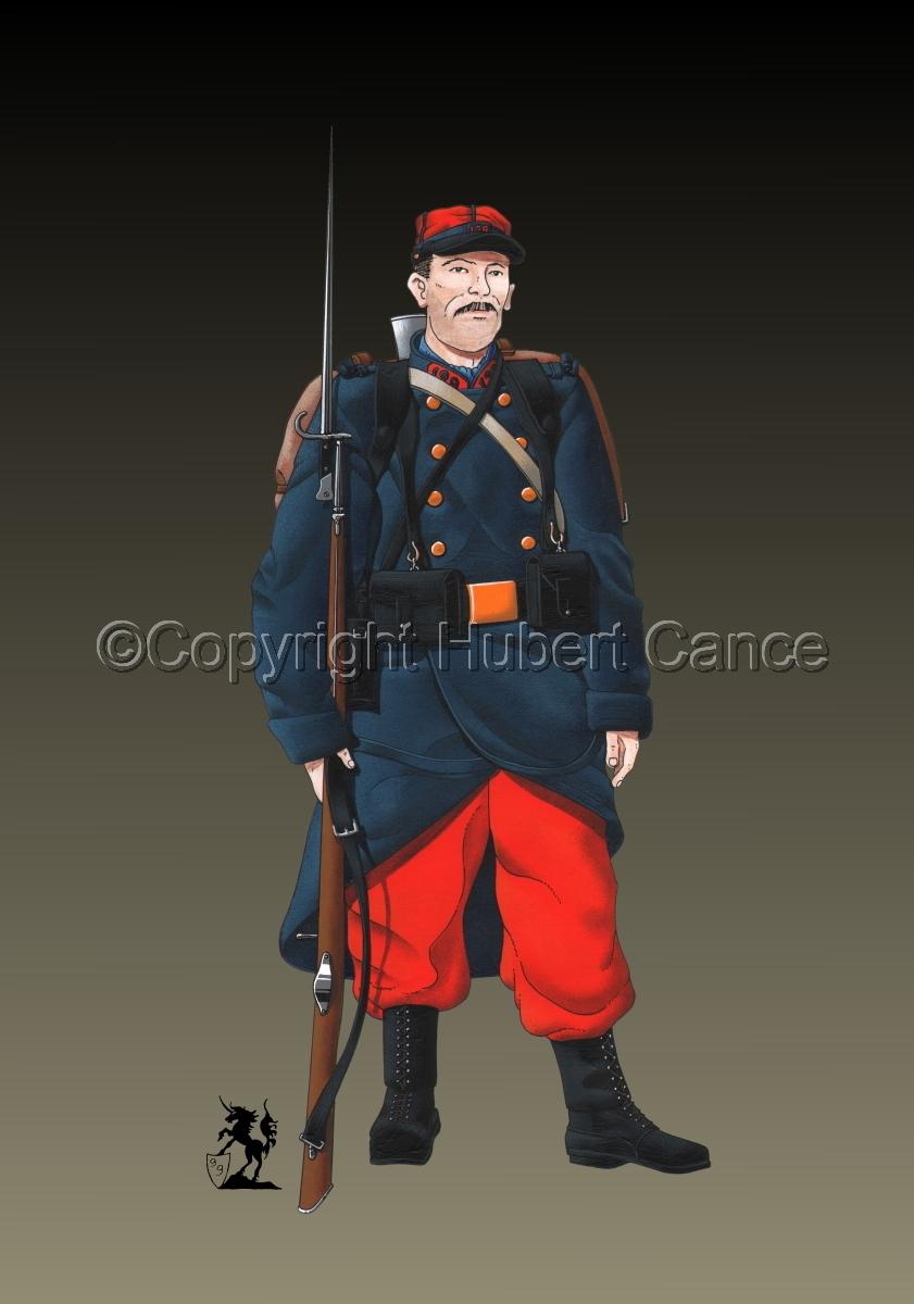French 139eme Regiment d'Infanterie (1914) #2 (large view)