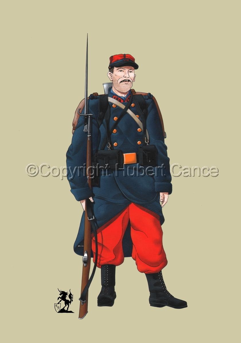 French 139eme Regiment d'Infanterie (1914) #1 (large view)