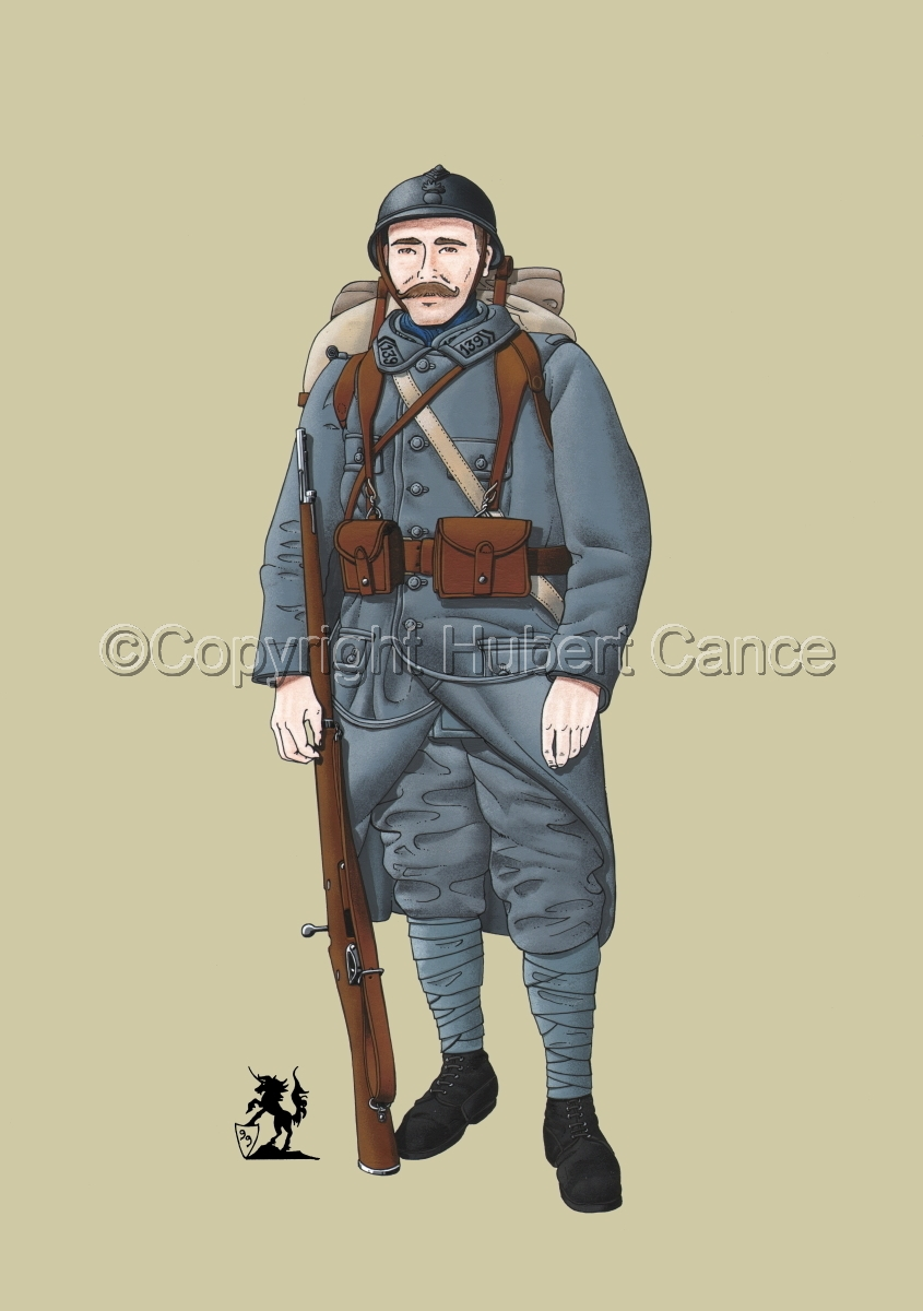 French 139eme Regiment d'Infanterie (1915) #1 (large view)