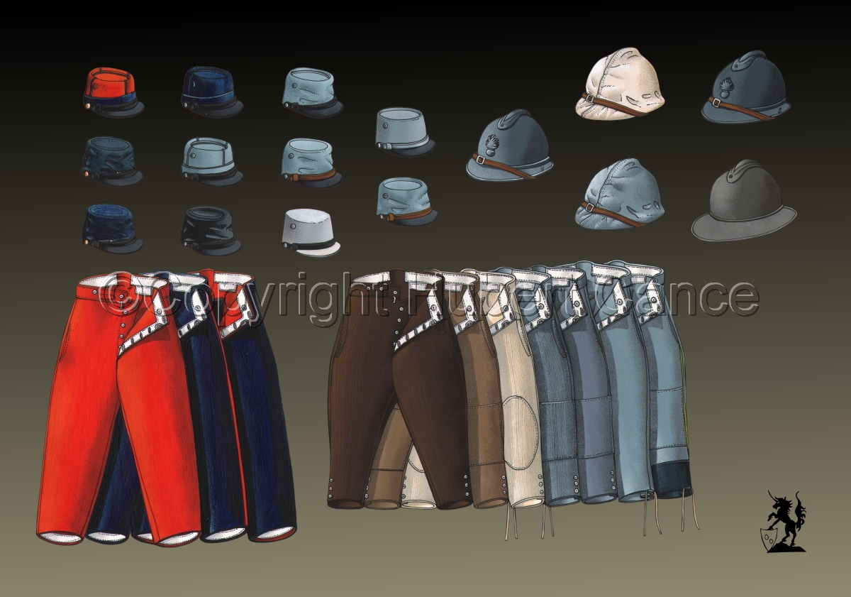 French WW1 Uniforms #1.2 (large view)