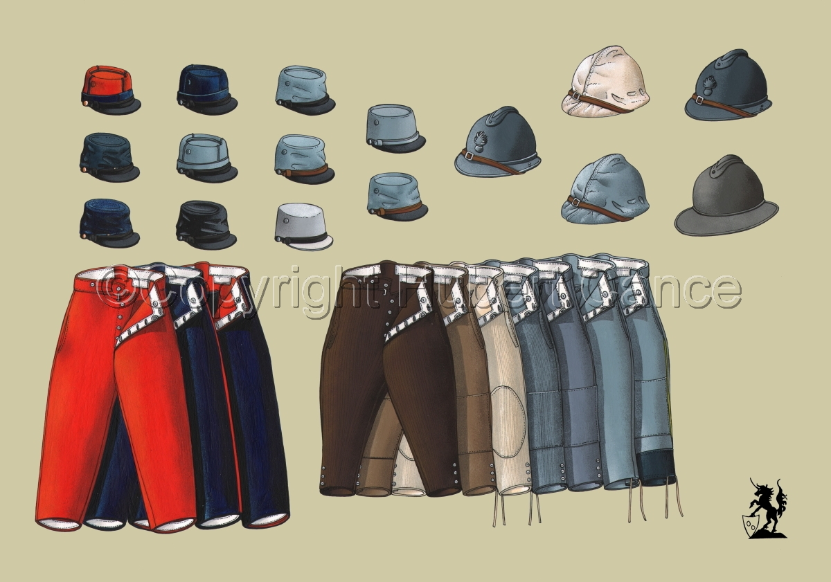 French WW1 Uniforms #1.1 (large view)