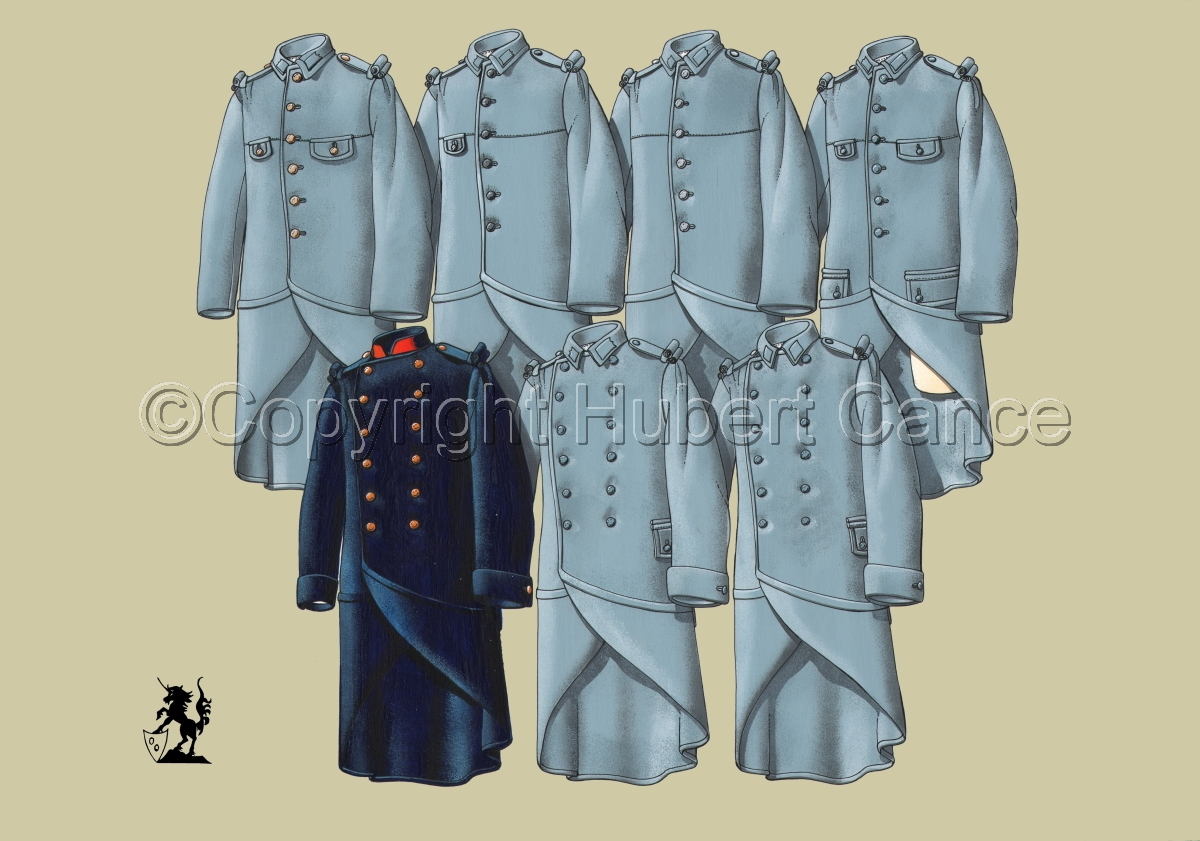 French WW1 Uniforms #2.1 (large view)