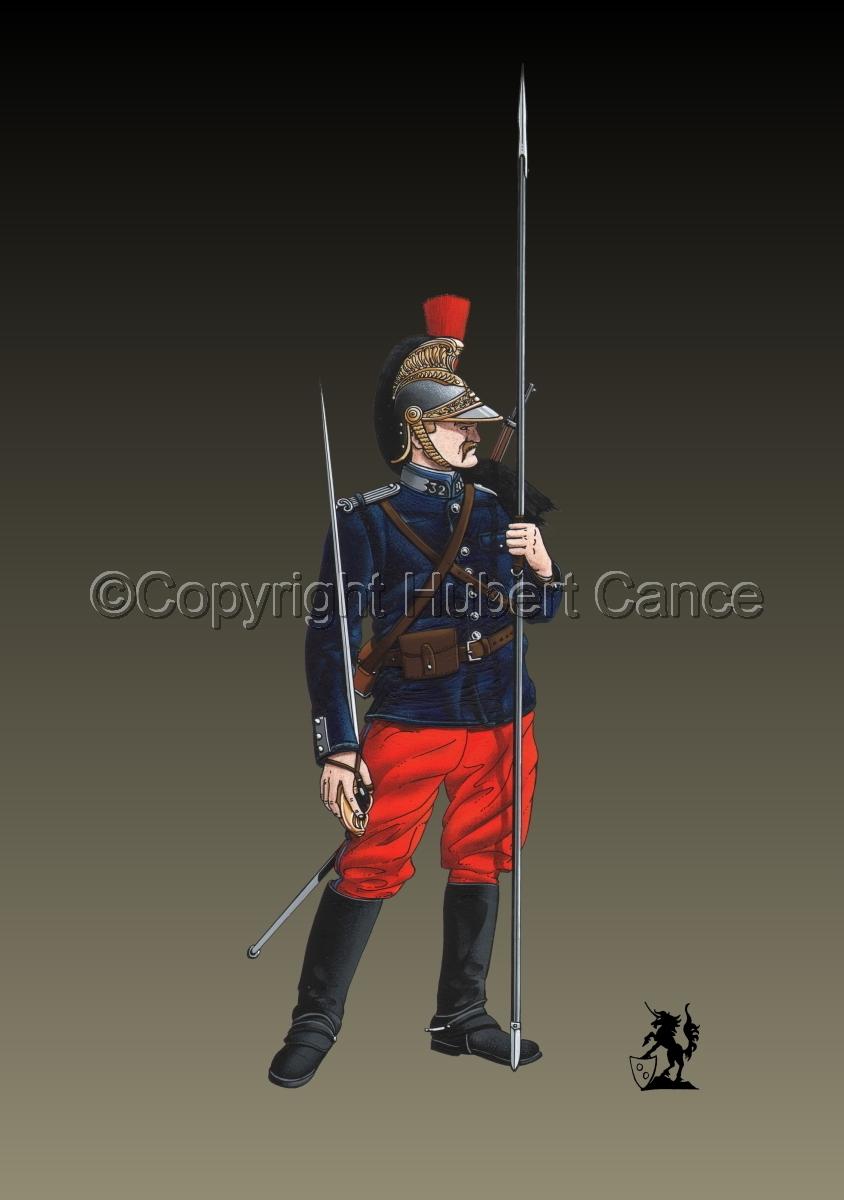 French 32eme Regiment de Dragons (1914) #2 (large view)