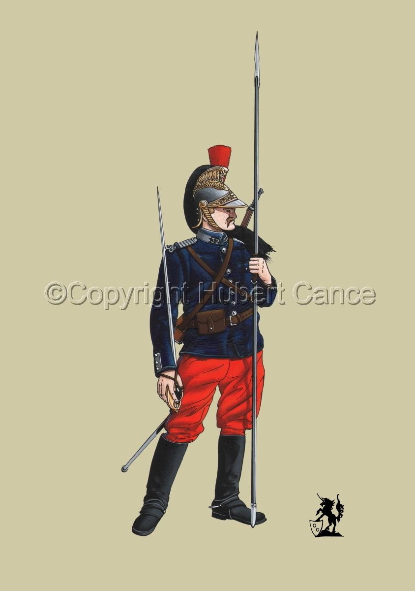 French 32eme Regiment de Dragons (1914) #1 (large view)