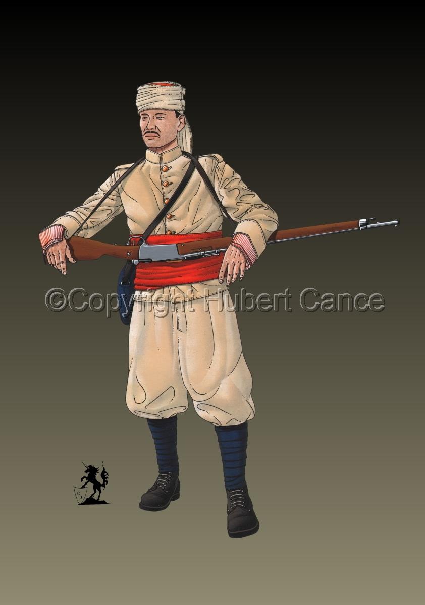 French Soldier, 1er Regiment de Tirailleurs Marocains (1914) #2 (large view)