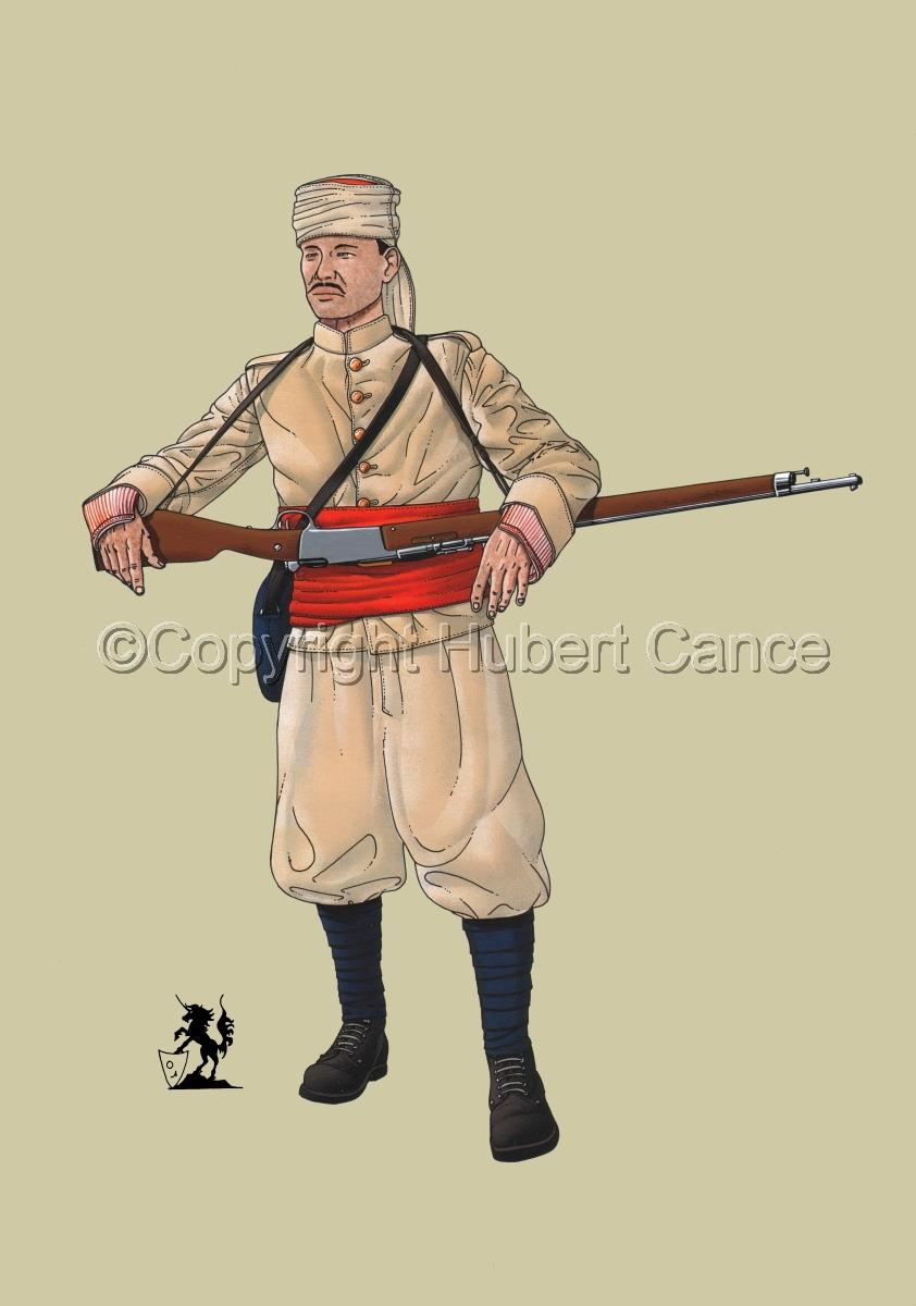 French Soldier, 1er Regiment de Tirailleurs Marocains (1914) #1 (large view)