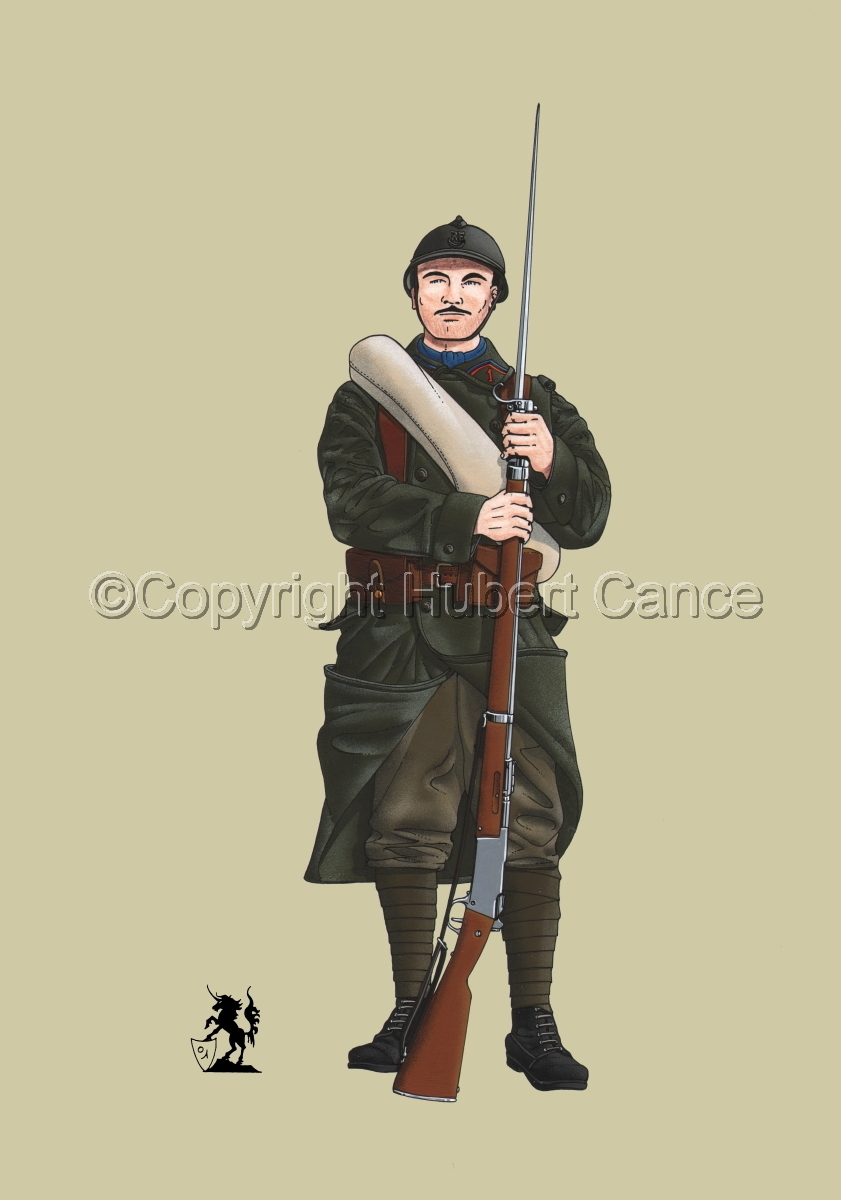 French Colonial Infantry, 1er RMZT (1917) #1 (large view)