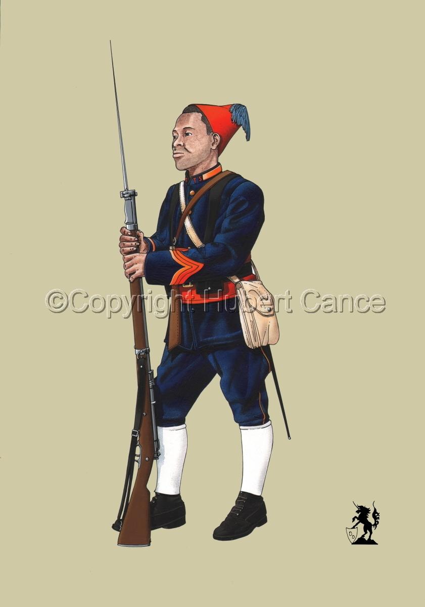 Caporal, Tirailleurs Senegalais (1914) #1 (large view)
