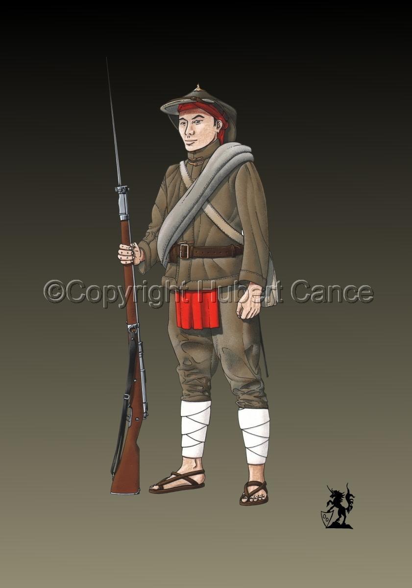 French Fusilier 1er Regiment de Tirailleurs Annamites (1914) #2 (large view)