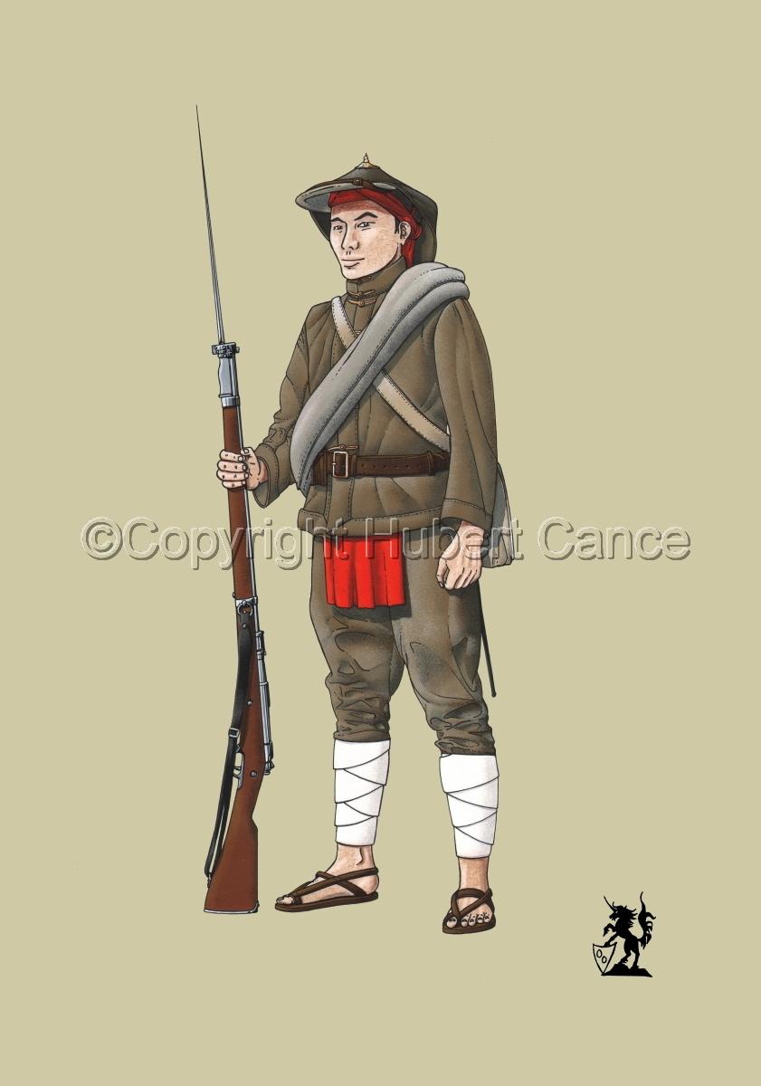 French Fusilier 1er Regiment de Tirailleurs Annamites (1914) #1 (large view)