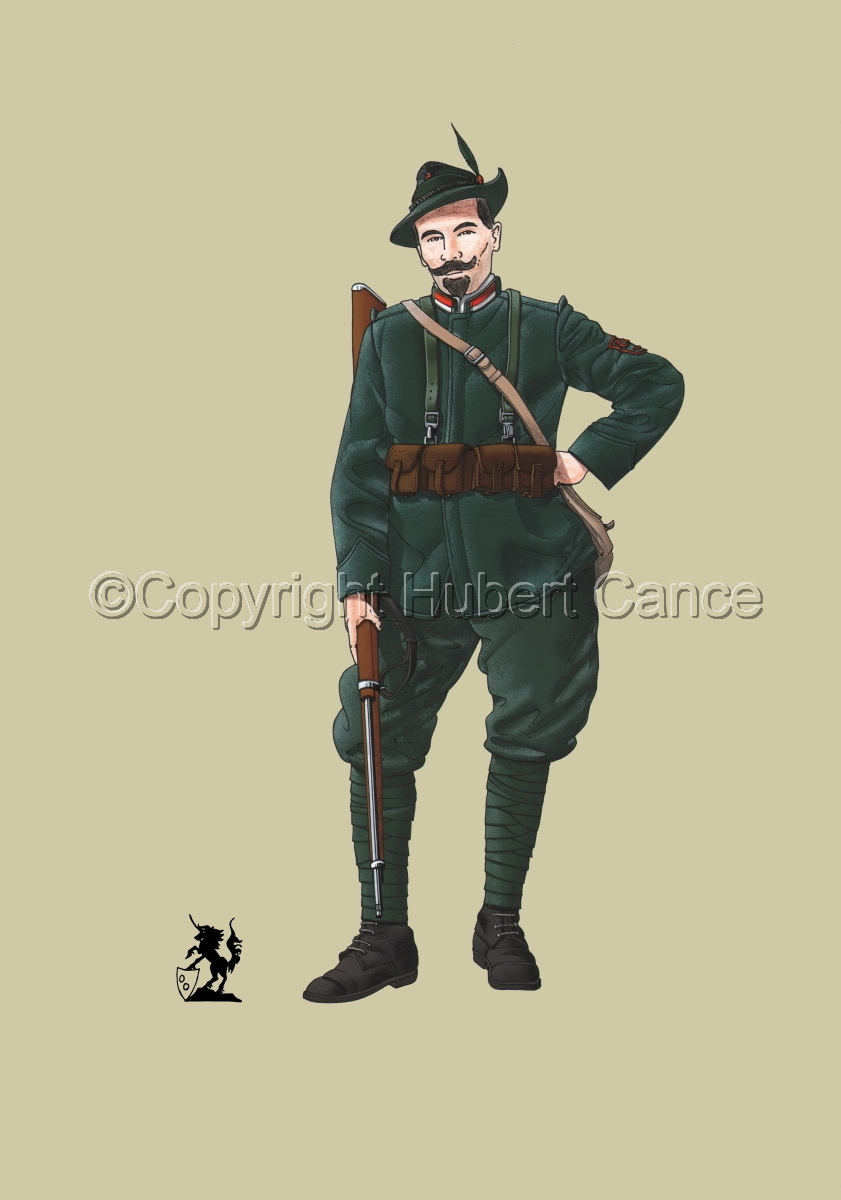 Alpini, 33rd. (Czechs) Regiment, Royal Italian Army (1918) #1 (large view)