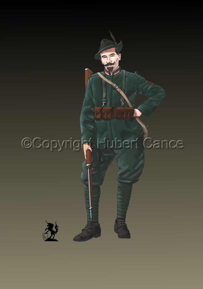 Alpini, 33rd. (Czechs) Regiment, Royal Italian Army (1918) #2 (large view)