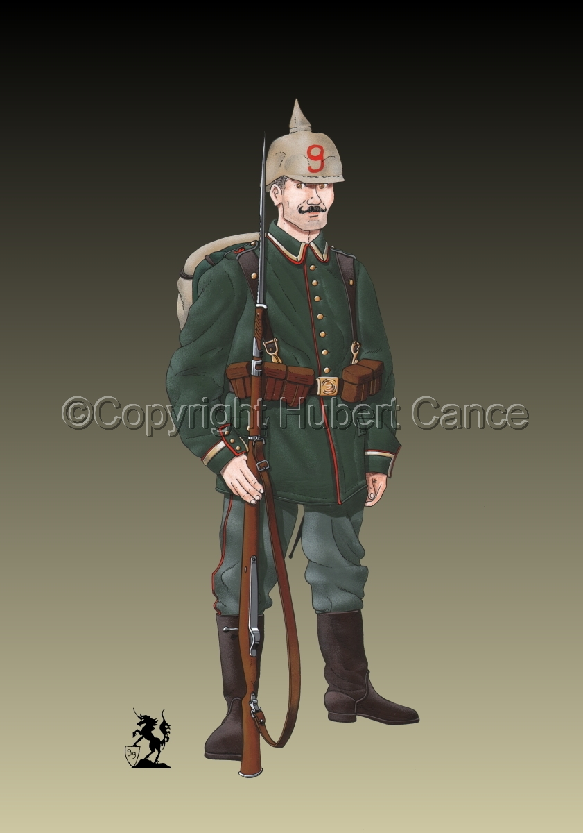9th. Prussian Grenadier Regiment (1914) #2 (large view)