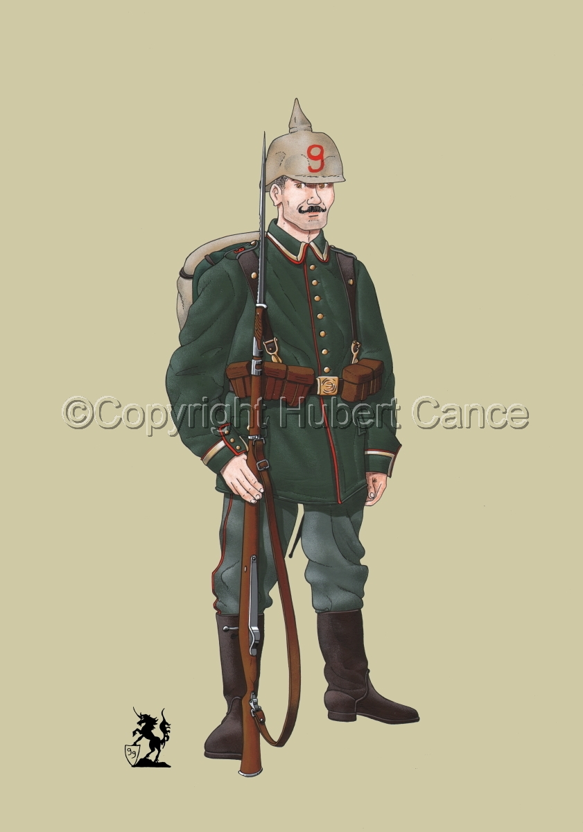 9th. Prussian Grenadier Regiment (1914) #1 (large view)