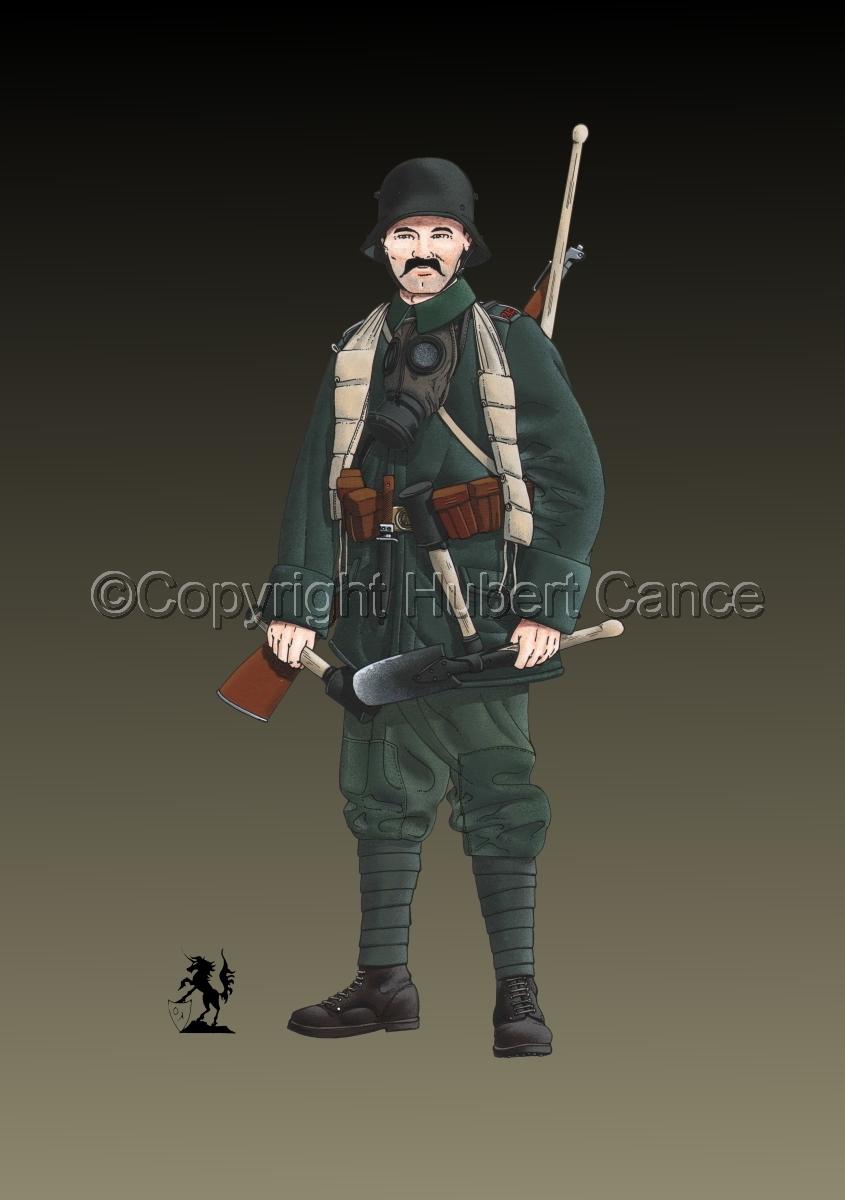Stosstruppen, 5. Sturm-Bataillon, 1917 #2 (large view)