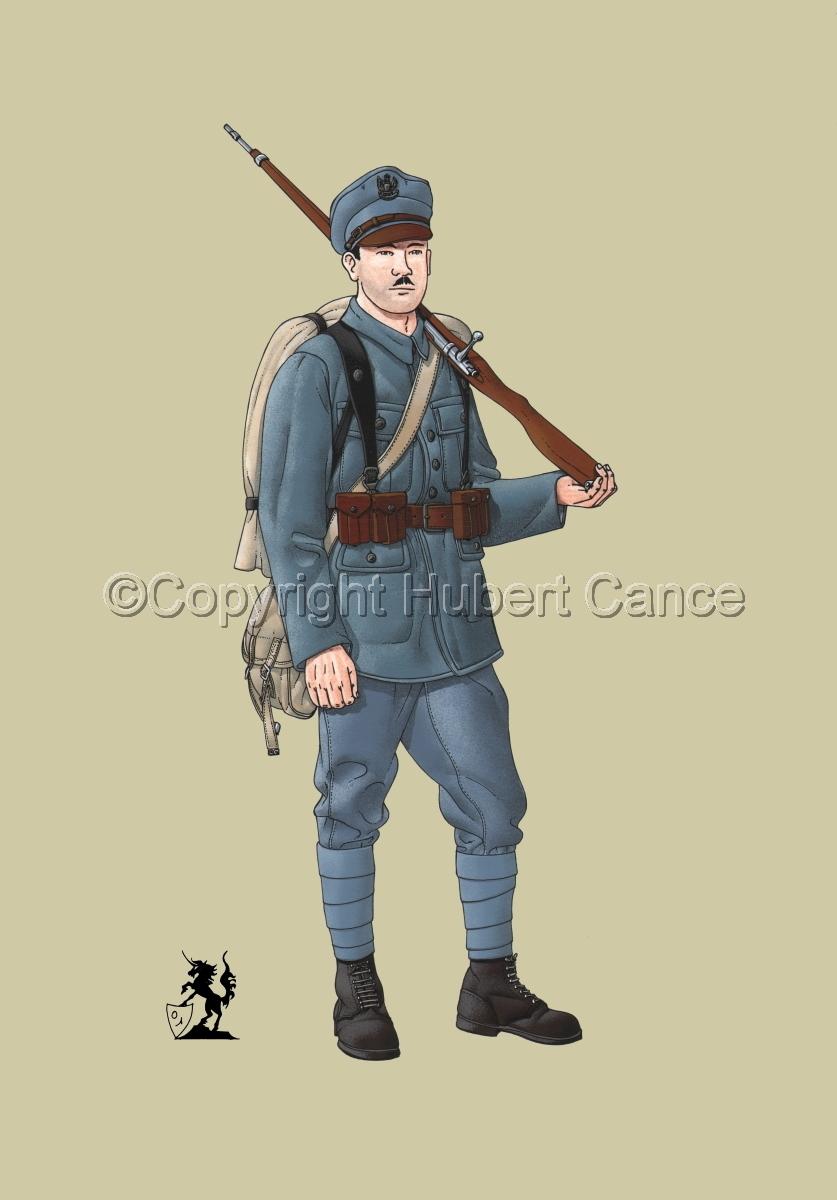 Polish Infantryman, Austrian Army (1914) #1 (large view)