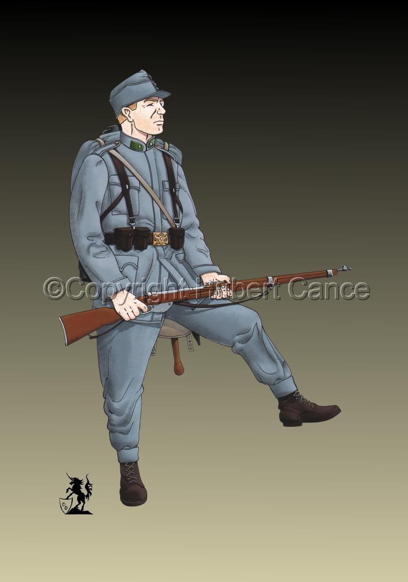 2nd. Imperial Austrian Landwehr Regiment (1914) #2 (large view)
