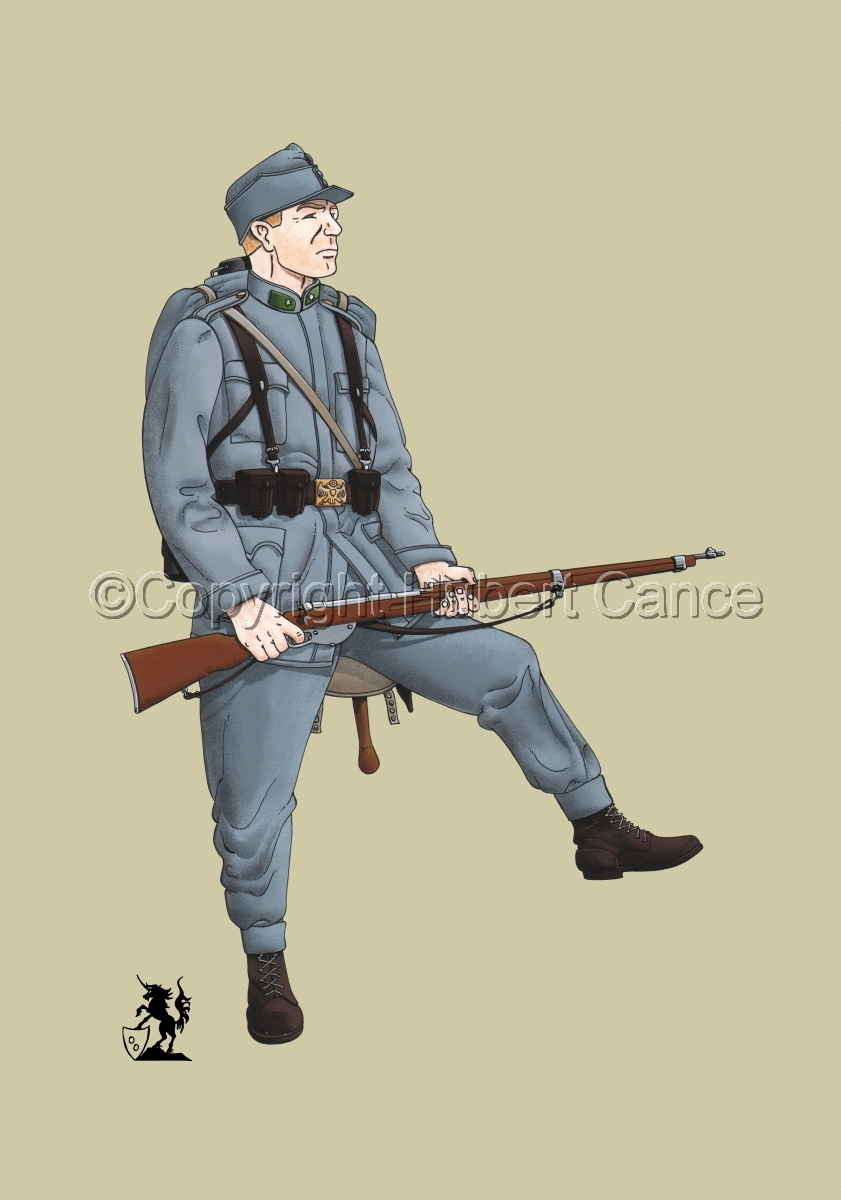 2nd. Imperial Austrian Landwehr Regiment (1914) #1 (large view)