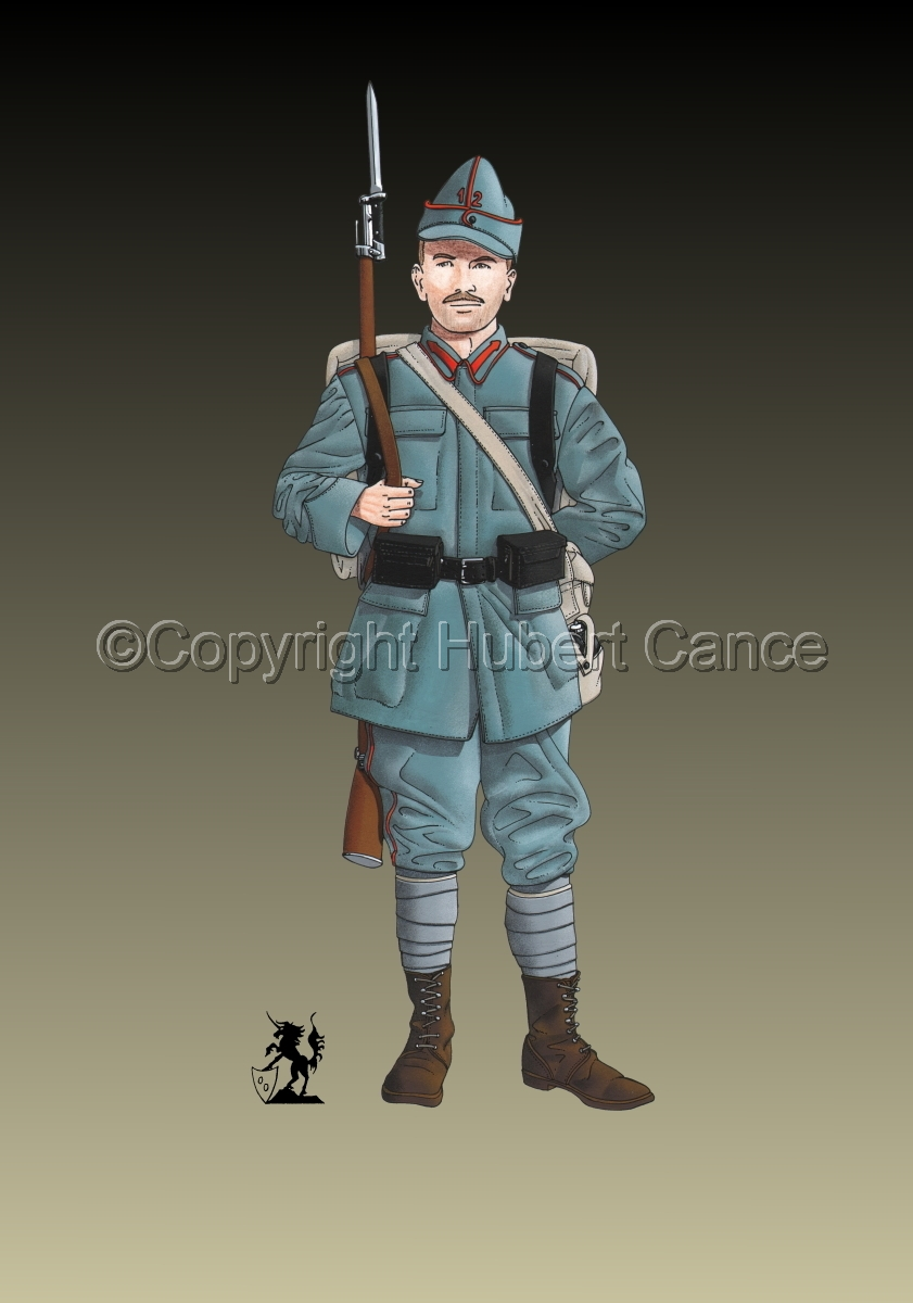 12th Infantry Regiment, Romanian Army (1916) #2 (large view)