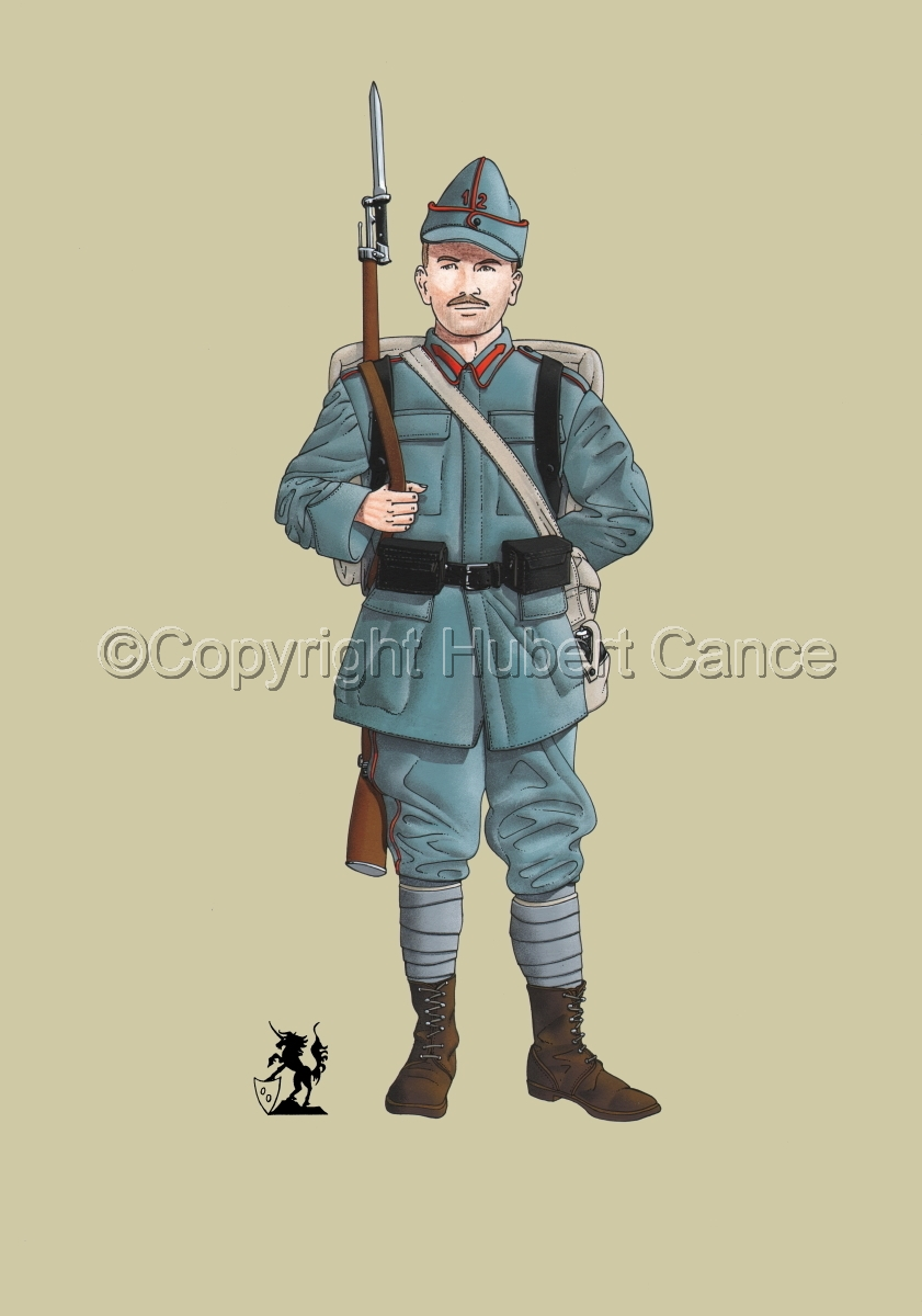 12th Infantry Regiment, Romanian Army (1916) #1 (large view)