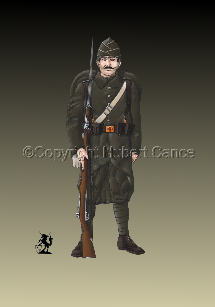Turkish Infantryman (1916) #2 (large view)