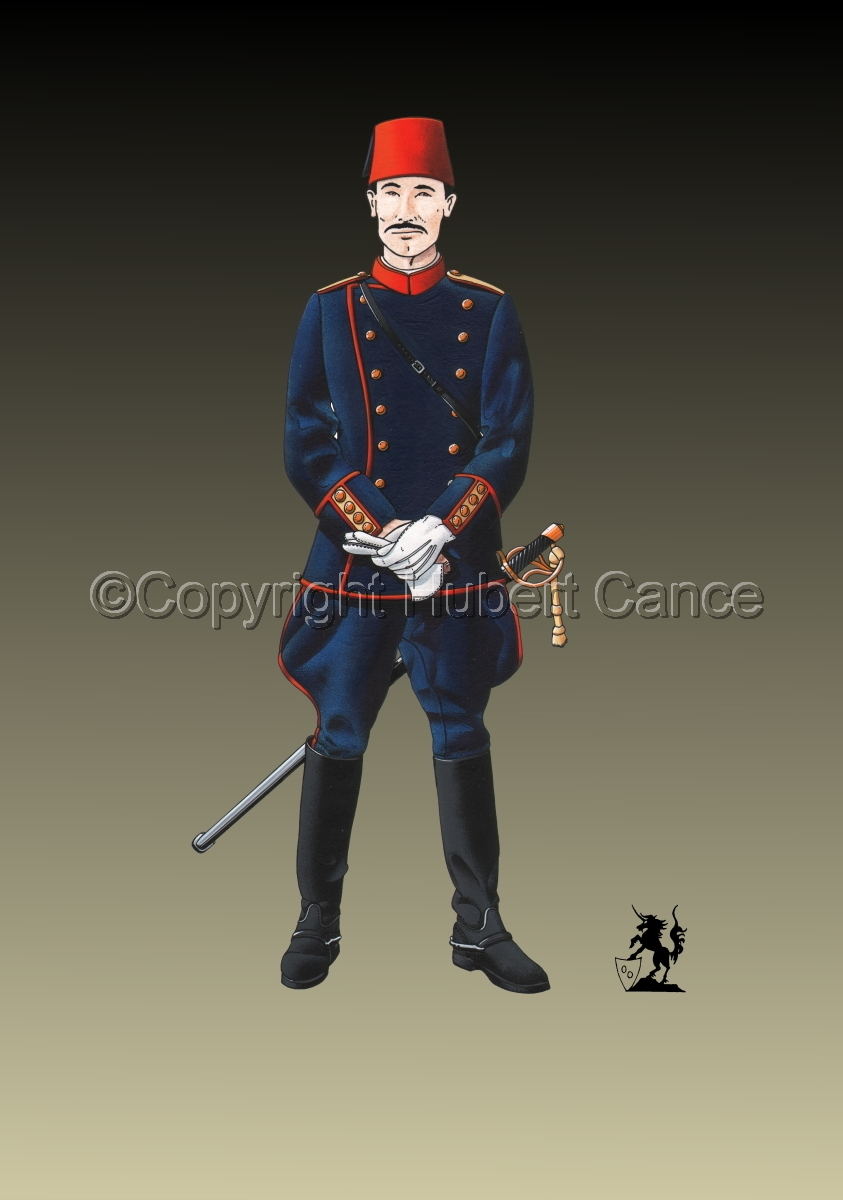 Officer, Turkish Infantry (1914) #2 (large view)