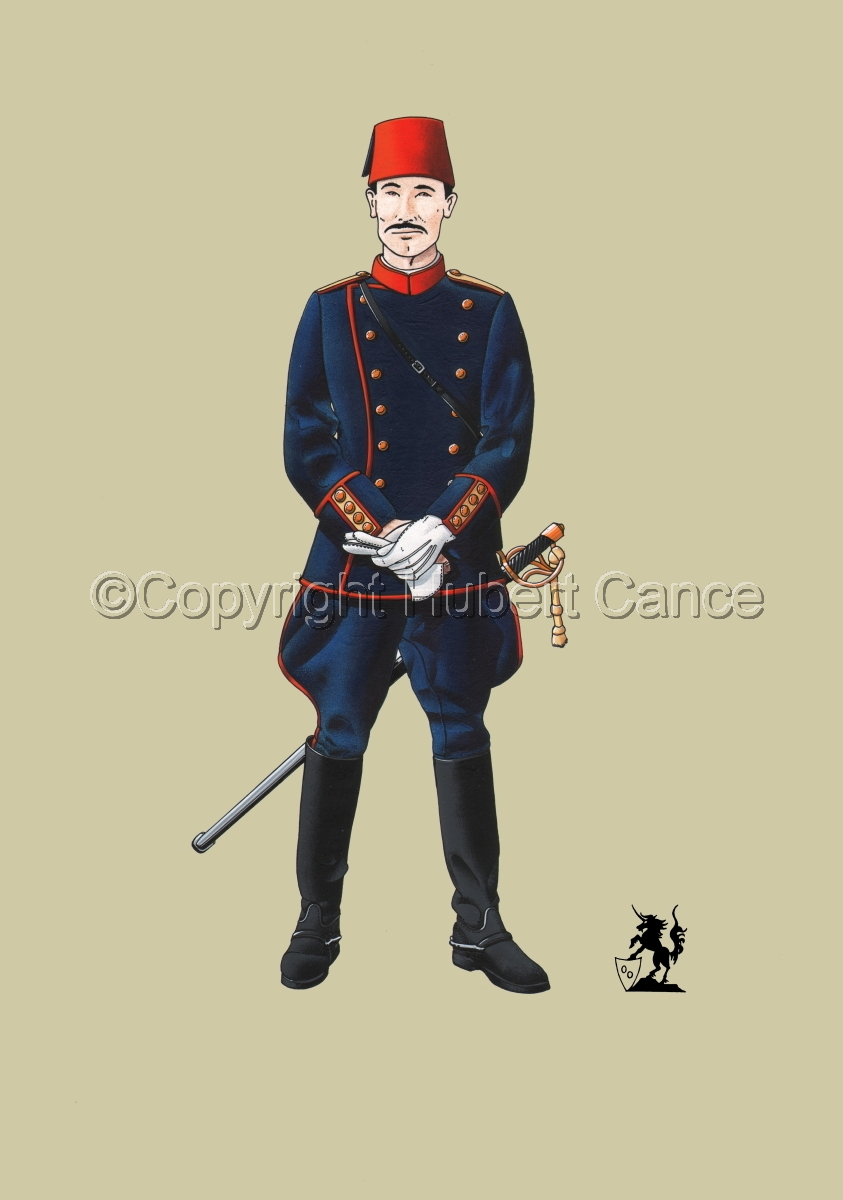 Officer, Turkish Infantry (1914) #1 (large view)