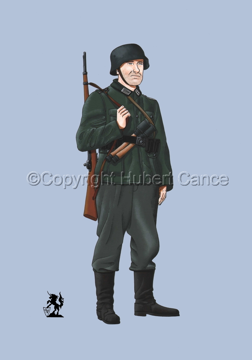 German Infantryman, WW2 #1 (large view)