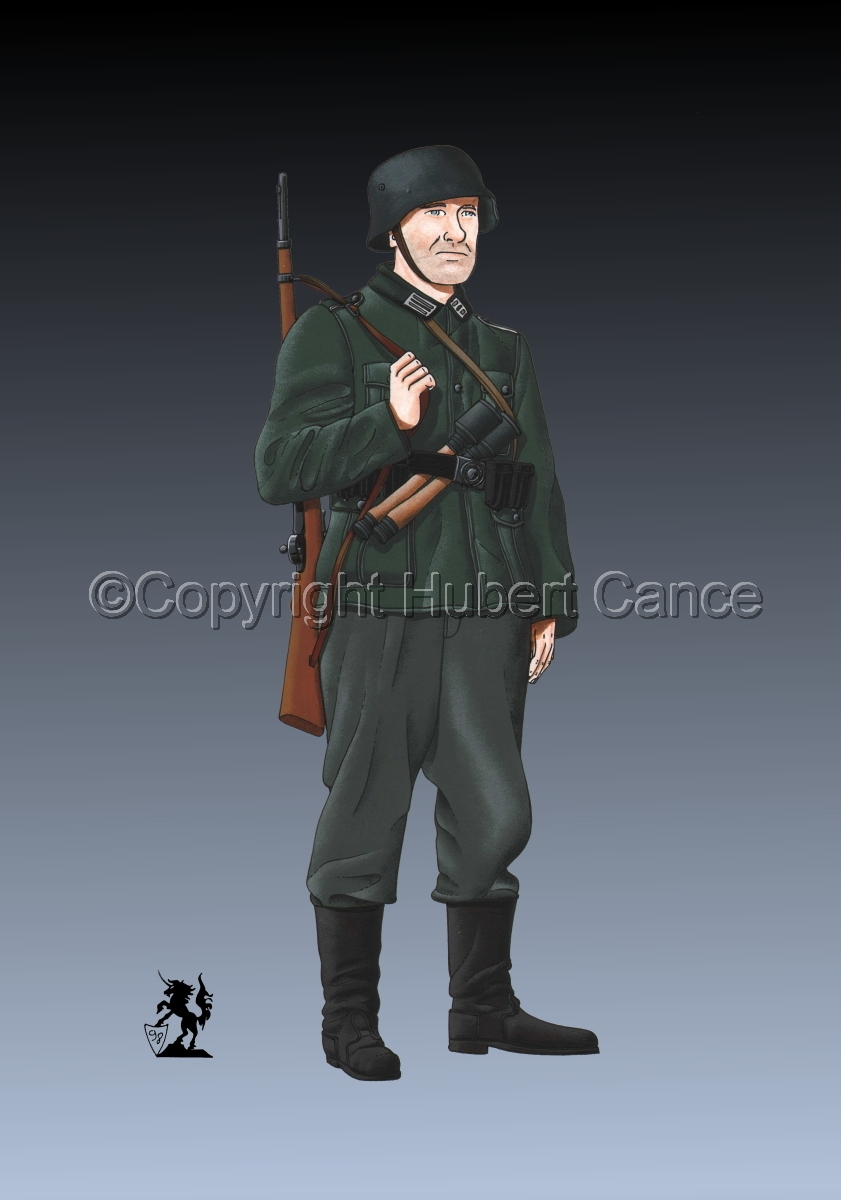 German Infantryman, WW2 #2 (large view)