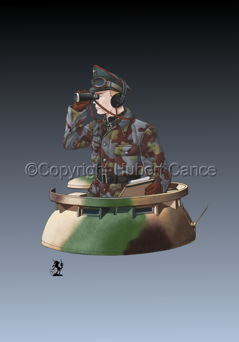 German Panther Tank Commander (1944) #2 (large view)