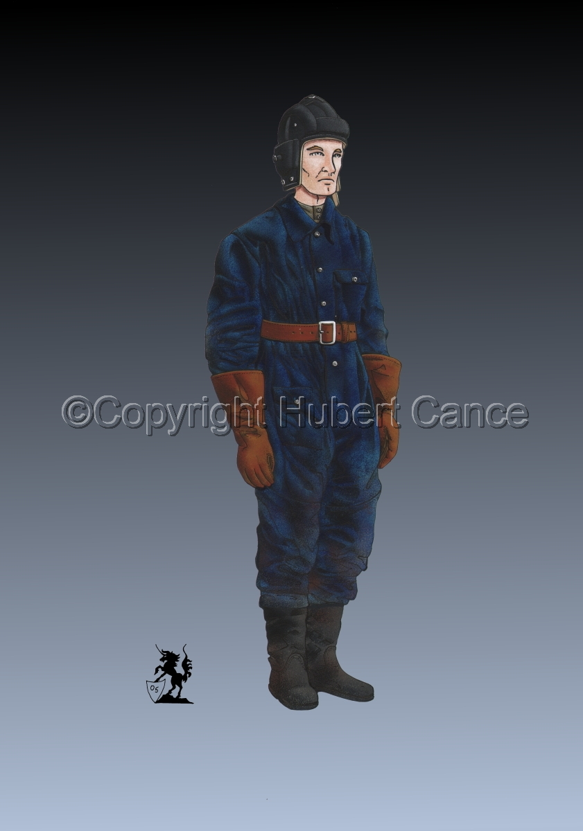 Soviet Tank Crewman (WW2) #2 (large view)
