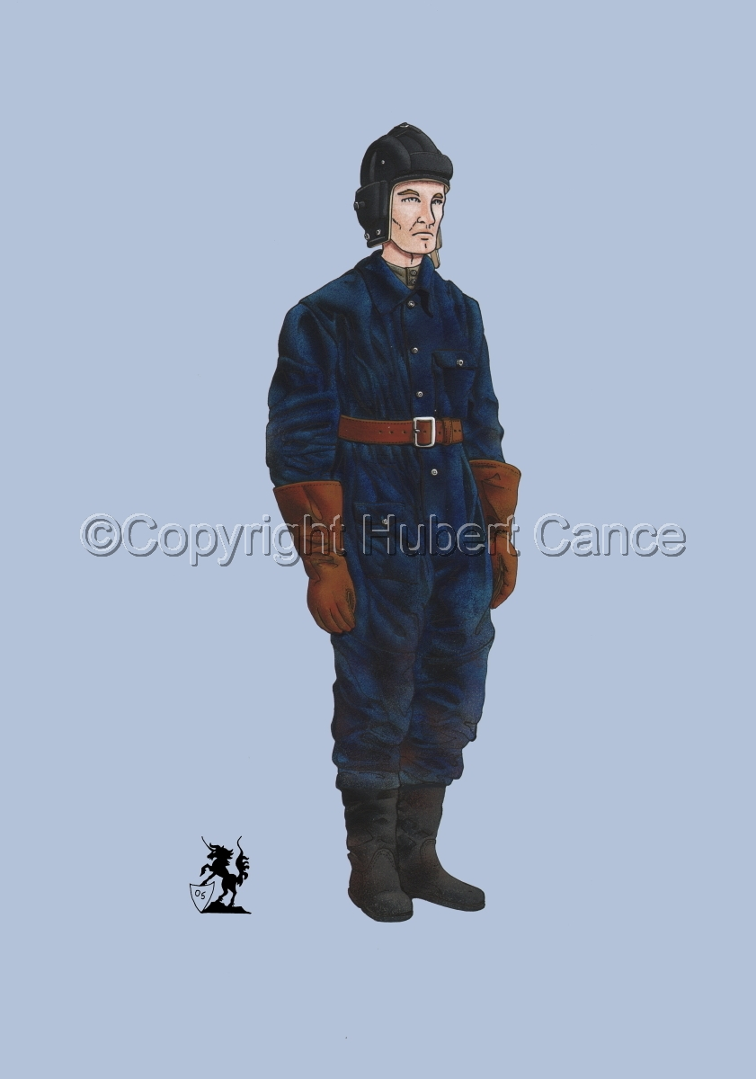 Soviet Tank Crewman (WW2) #1 (large view)