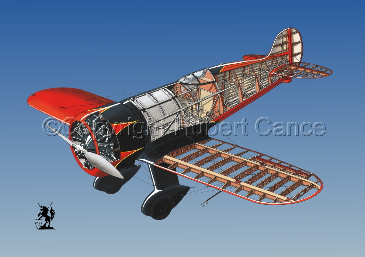 Wedell Williams R44 Racer #1.3 (large view)