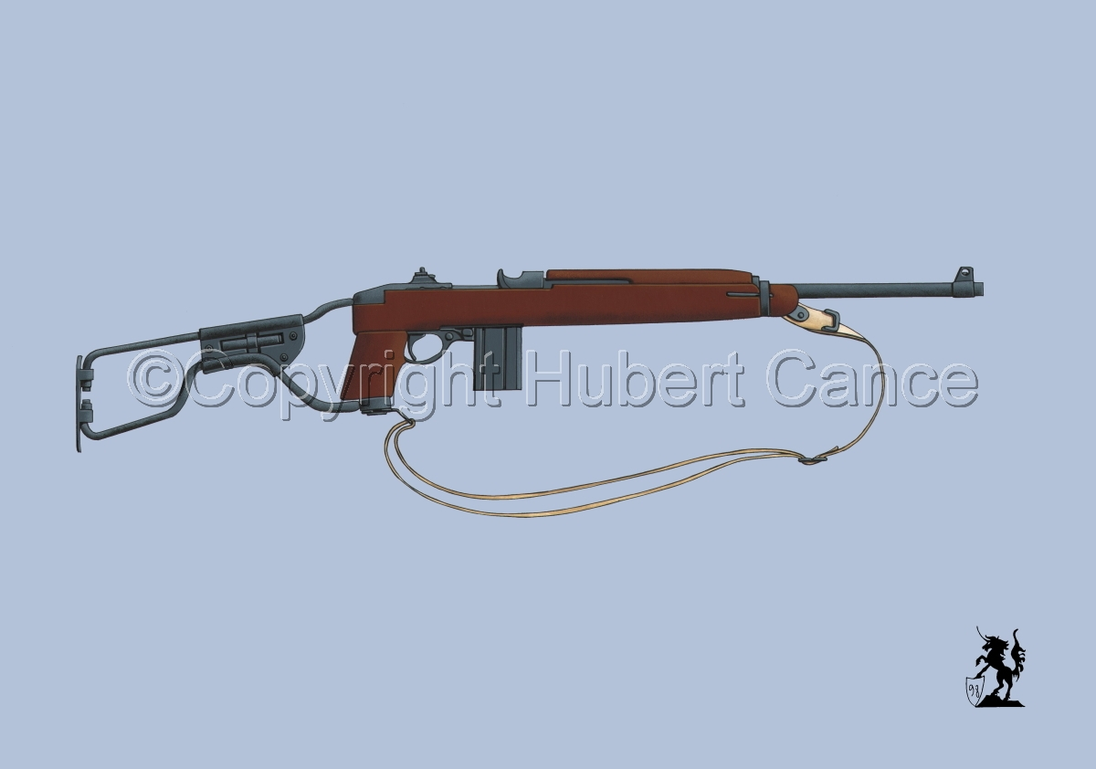 US M1A1 Paratroop Carbine #2 (large view)