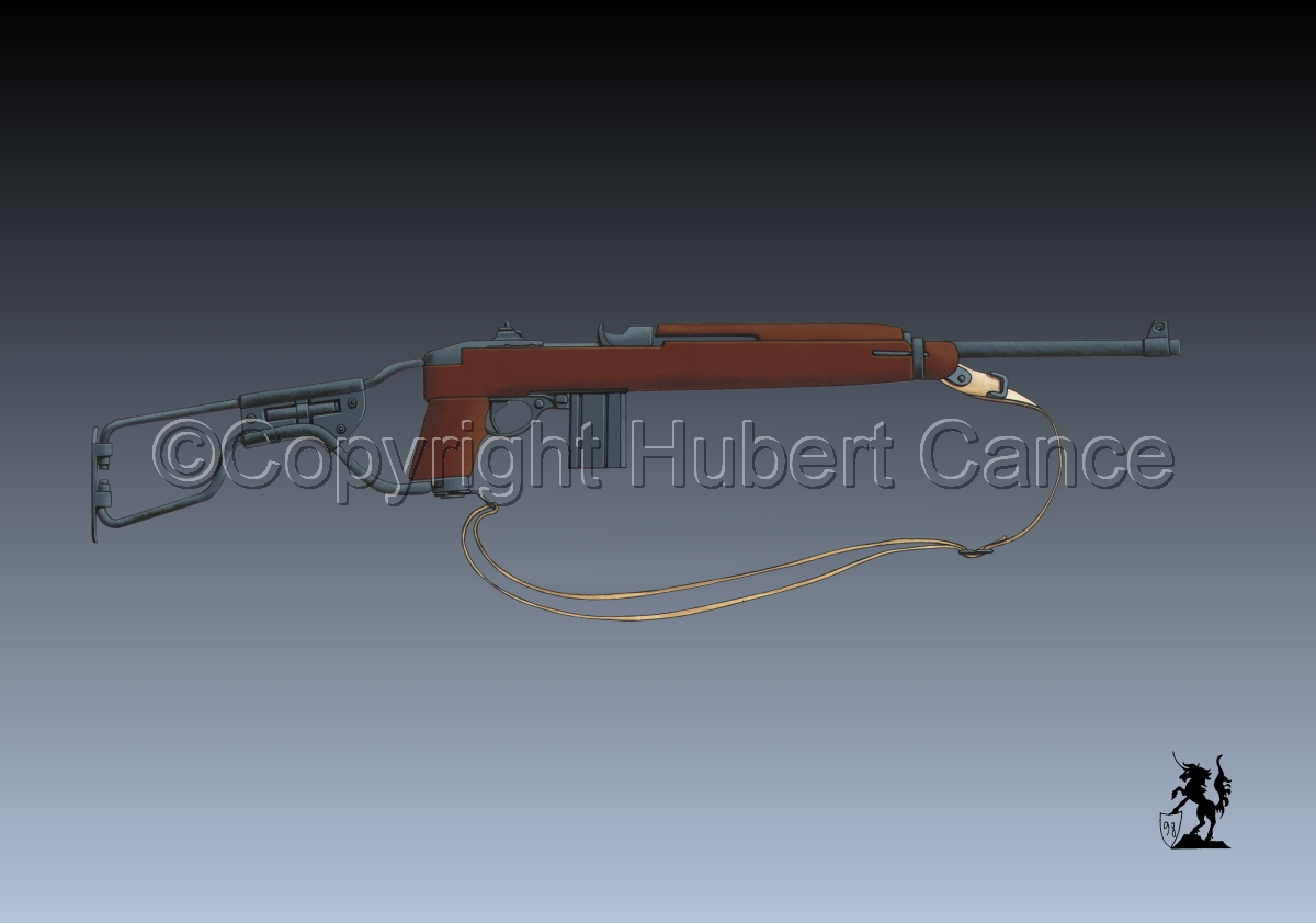 US M1A1 Paratroop Carbine #3 (large view)