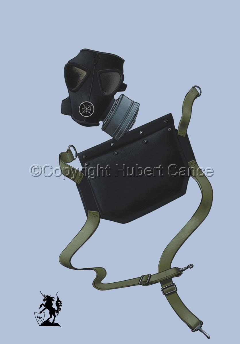 US M5 Amphibious Assault Gas Mask #2 (large view)