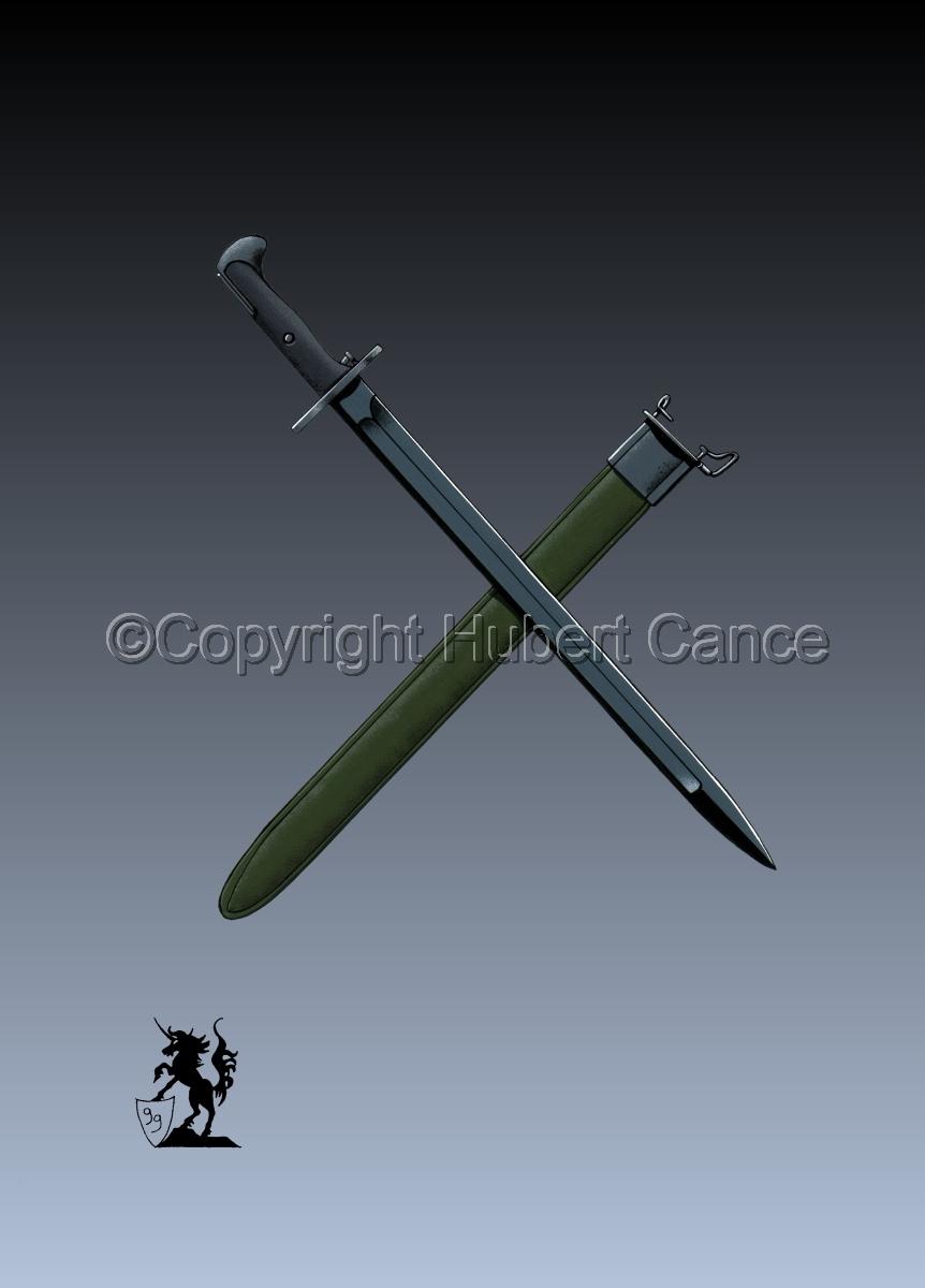 M.1942 Bayonet #3 (large view)