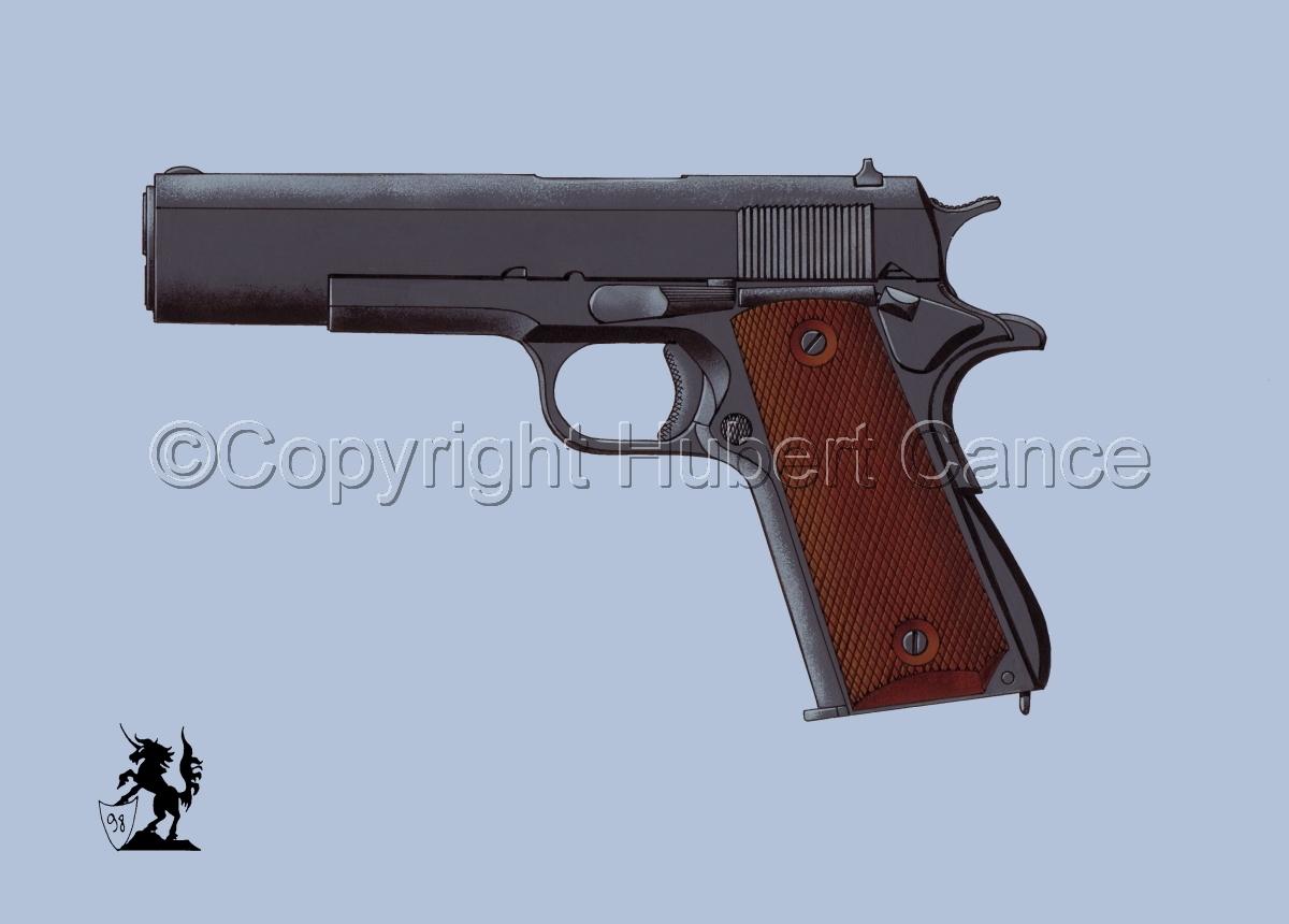Colt .45 M1911A1 #2 (large view)