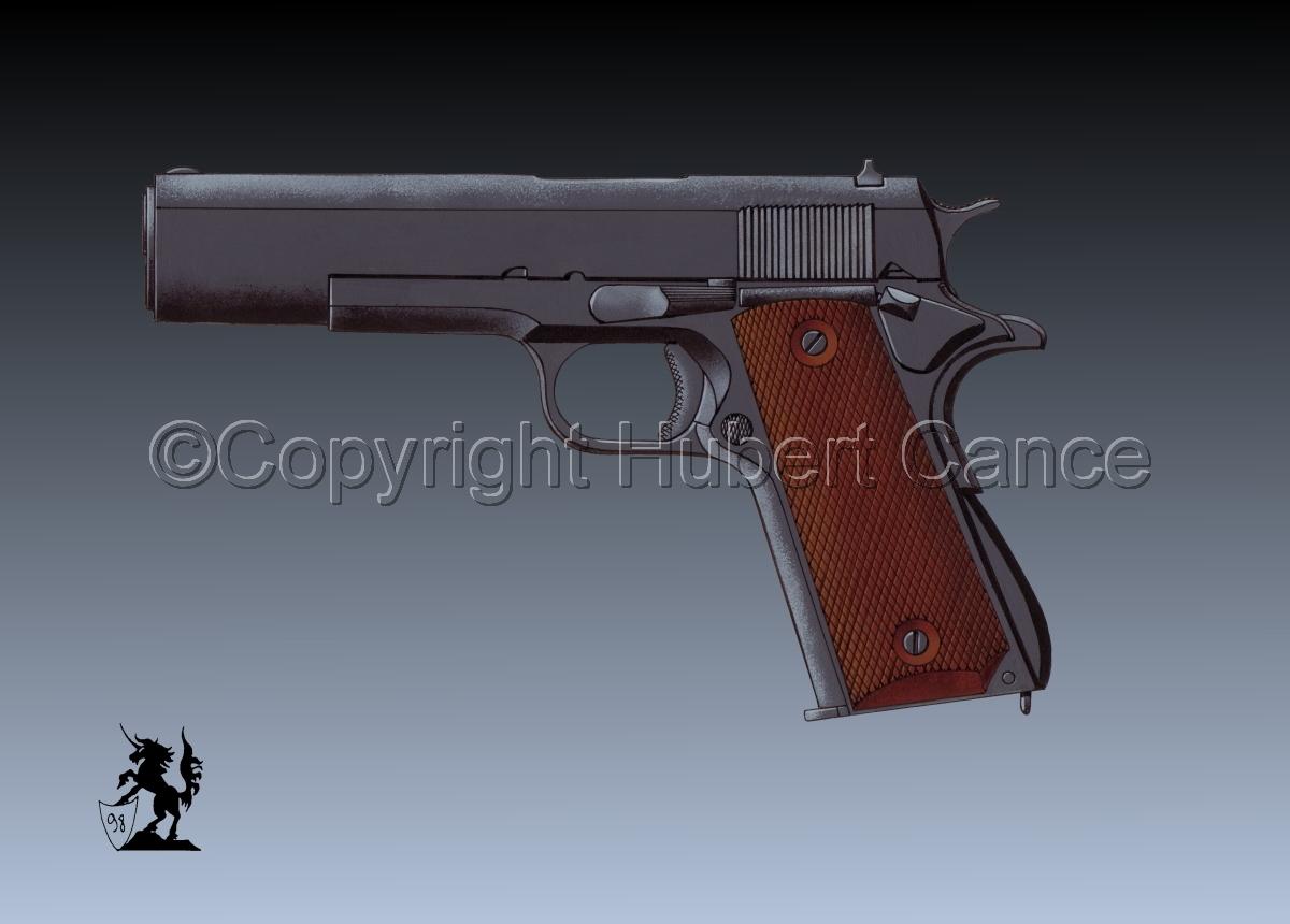 Colt .45 M1911A1 #3 (large view)