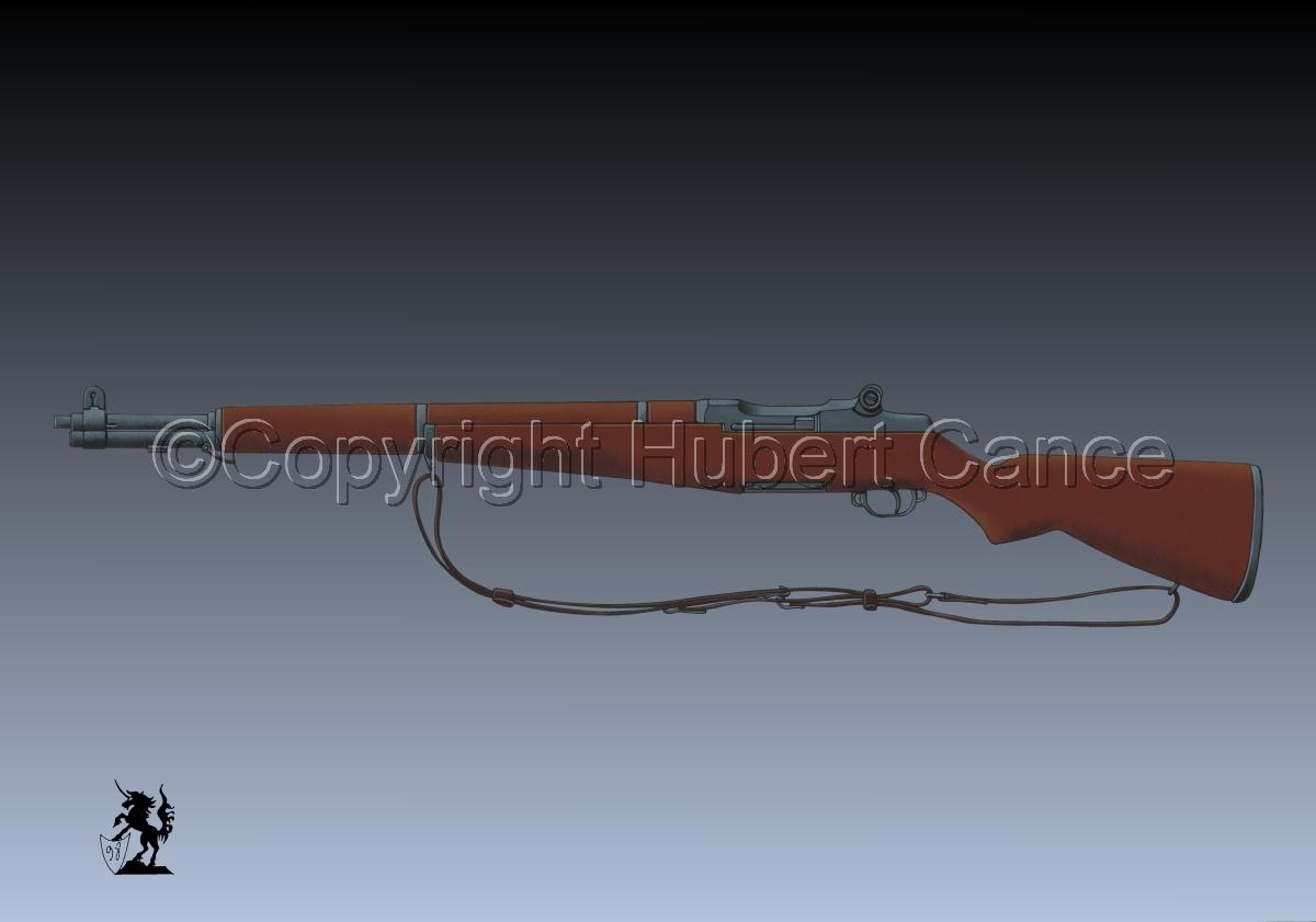 Garand M1 Riffle #3 (large view)