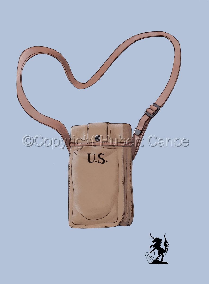 US Thompson Machine-Gun ammuntions bag #2 (large view)