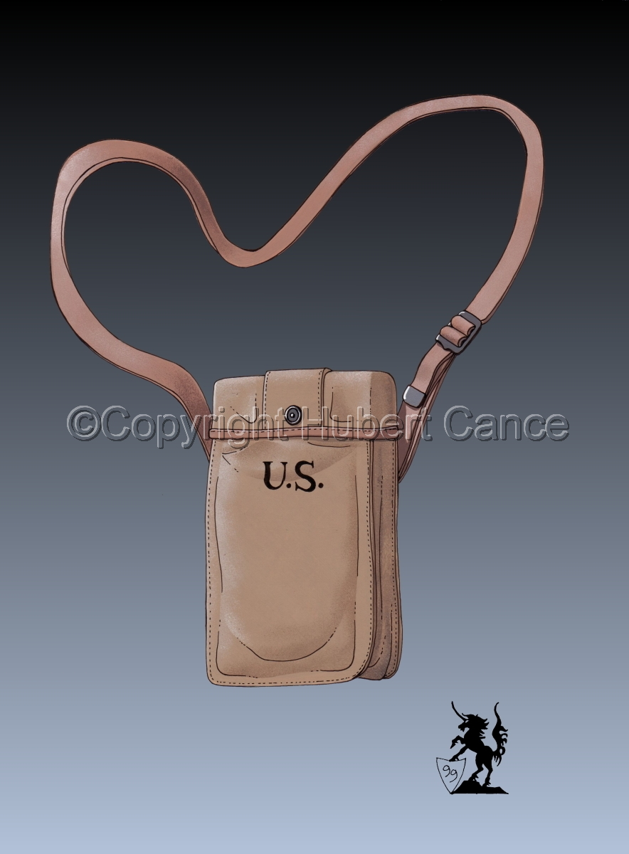 US Thompson Machine-Gun ammuntions bag #3 (large view)