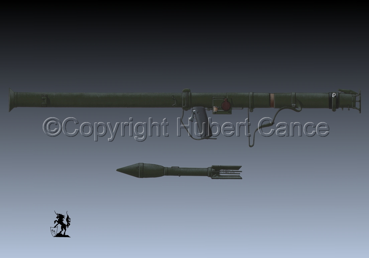 M9 Bazooka and rocket #3 (large view)