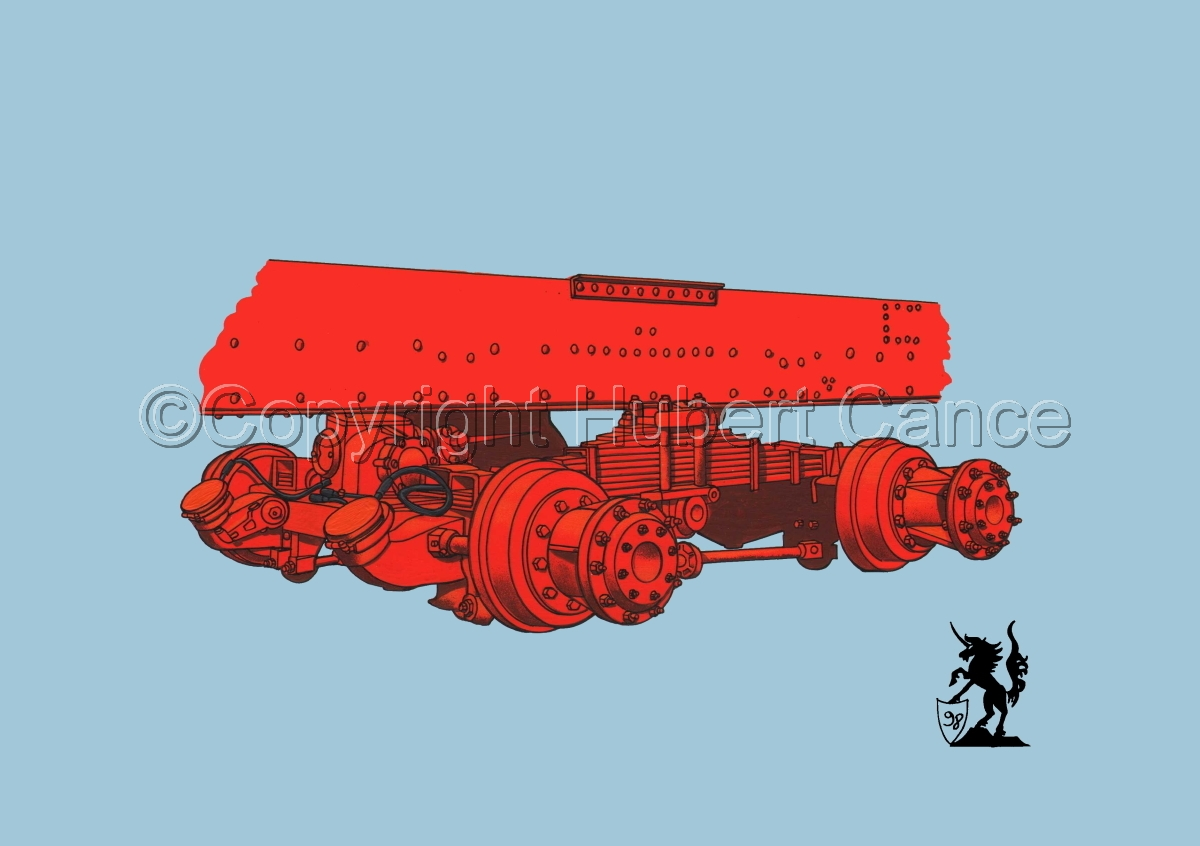 Kenworth Dual Rear Axle #1 (large view)