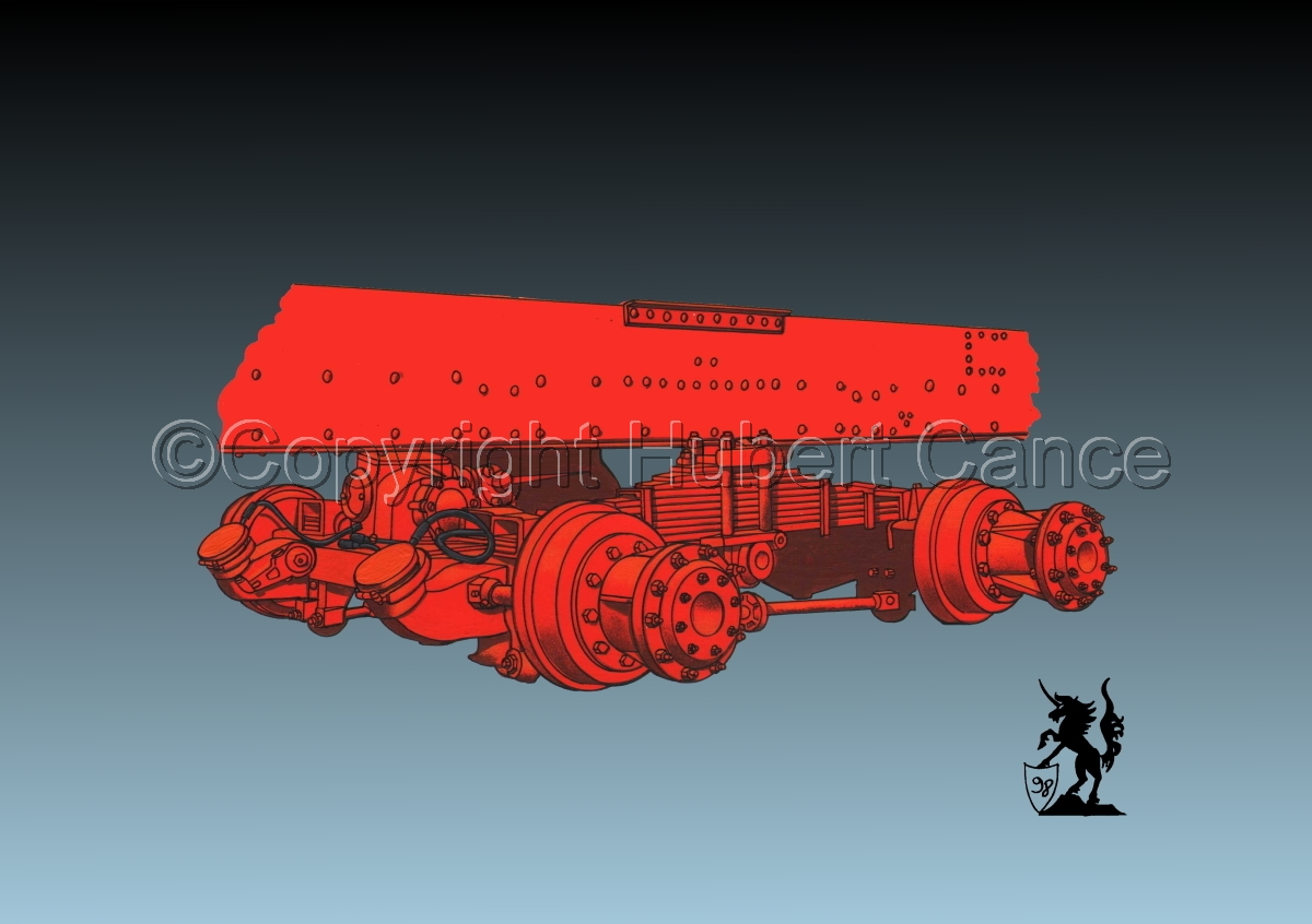 Kenworth Dual Rear Axle #2 (large view)